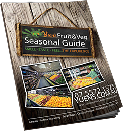 Fruit and vegetables seasons guide