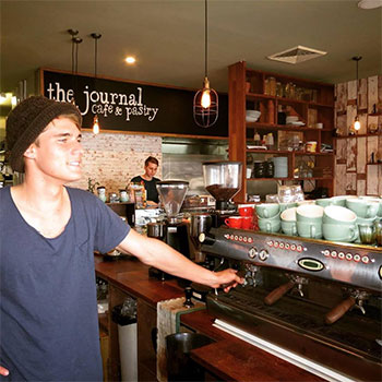Barista at The Journal Cafe
